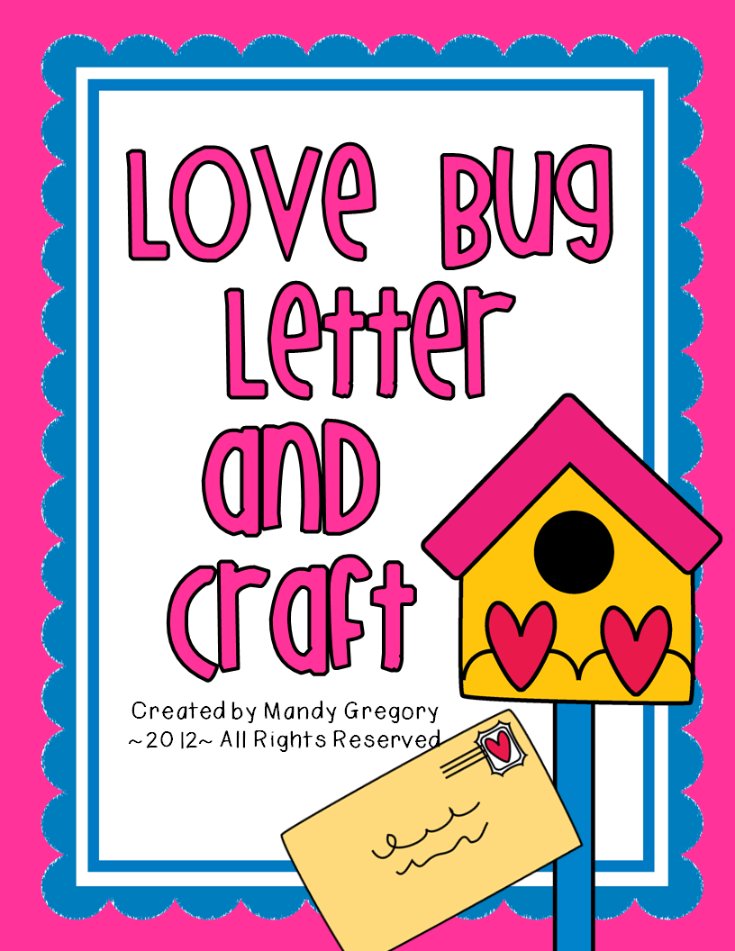 Love bug letter writing and craft mandys tips for teachers love bug letter writing and craft kristyandbryce Choice Image