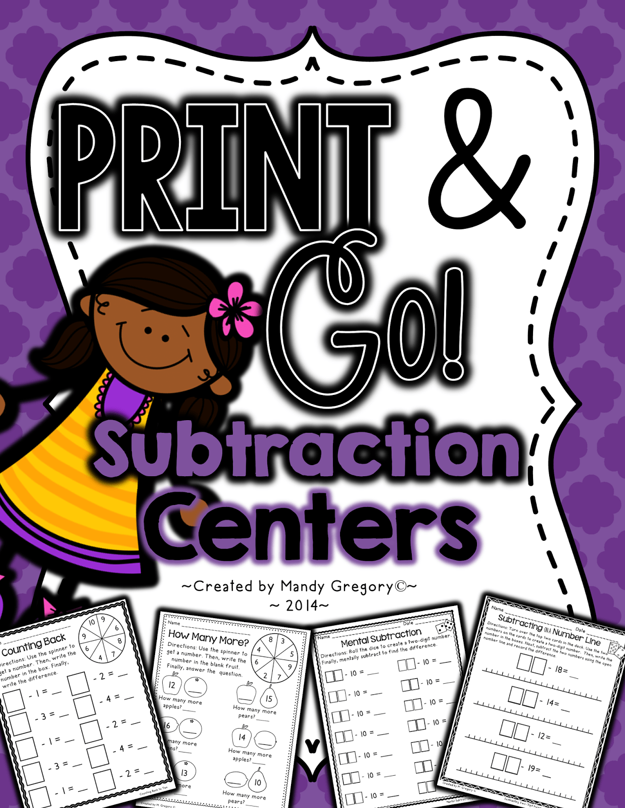 https://www.teacherspayteachers.com/Product/Subtraction-Print-and-Go-Centers-1647123