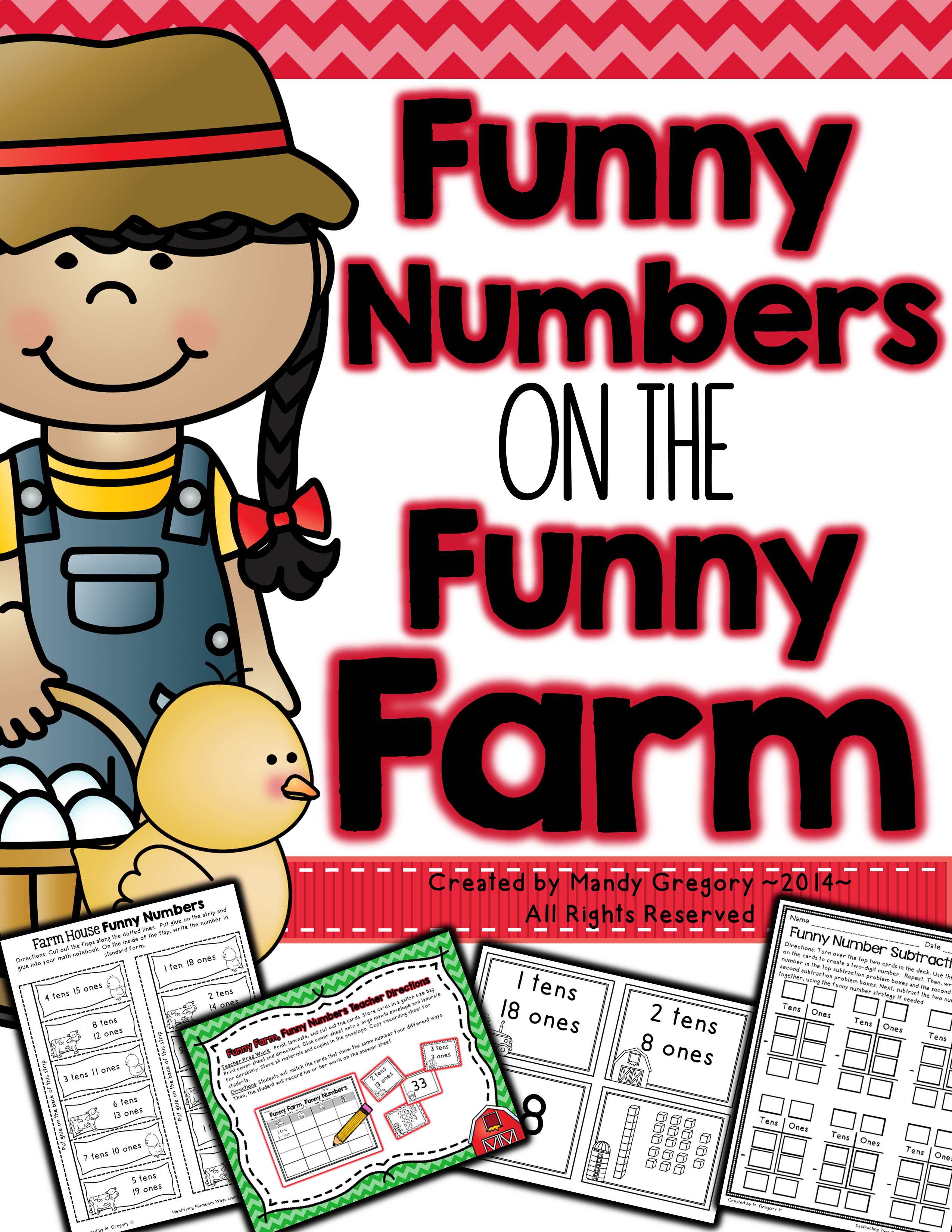 Funny Numbers on the Funny Farm