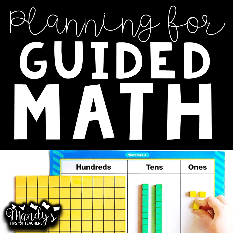 Organizing Guided Math (Place Value Edition)