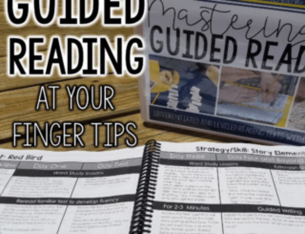 Simplifying Guided Reading