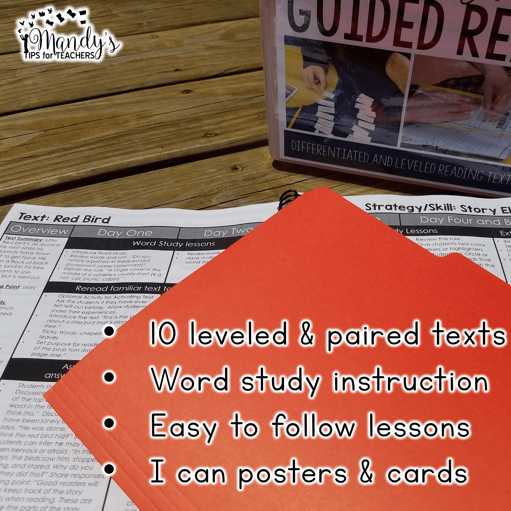 what is included in Mastering Guided Reading Vol 1