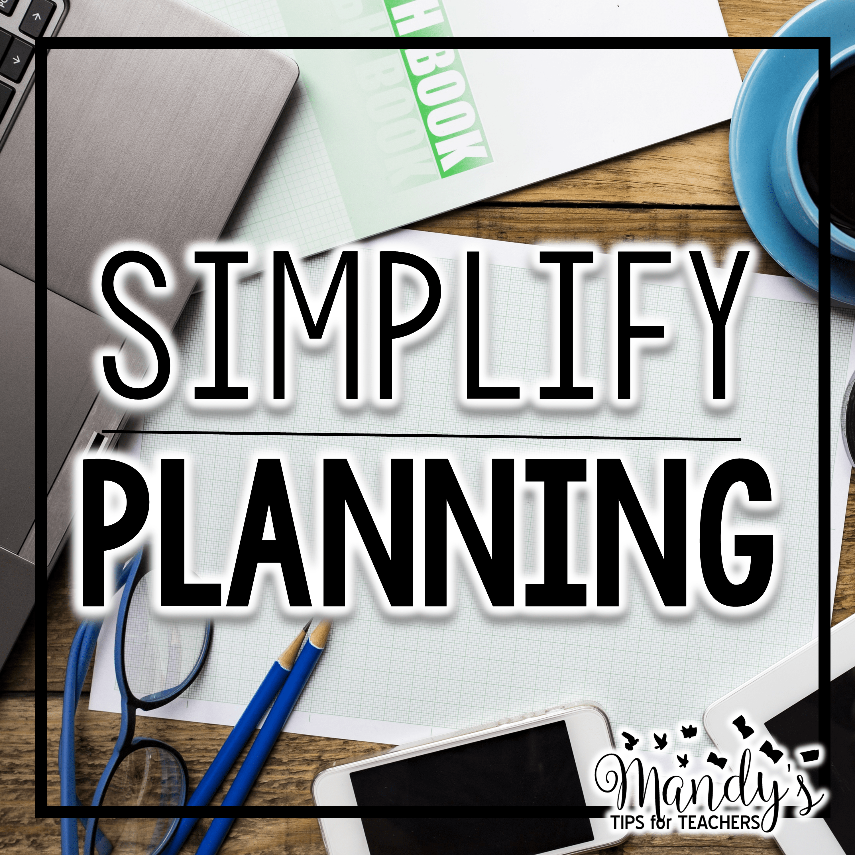 Simplify Planning